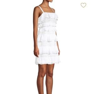 NWT Lilly Pulitzer White ruffle dress